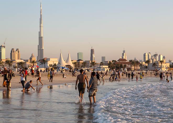 Open beach, Jumeirah