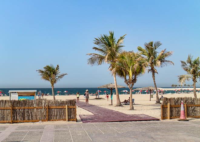 Stranden, Al Mamzar