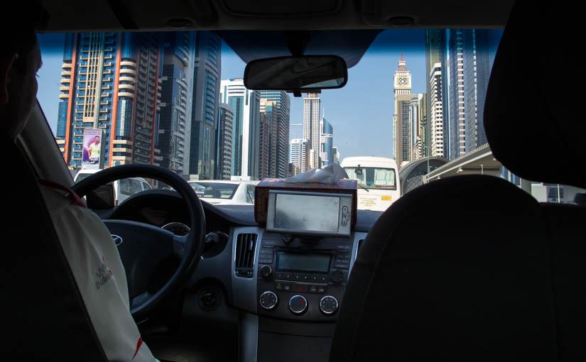 Taxi, Dubai