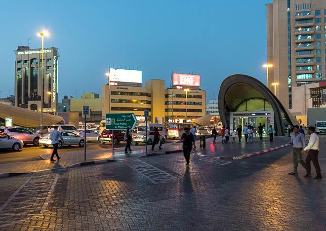 Metro, Bur Dubai