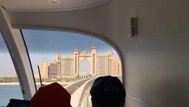 Monorail Atlantis, Dubai Palm