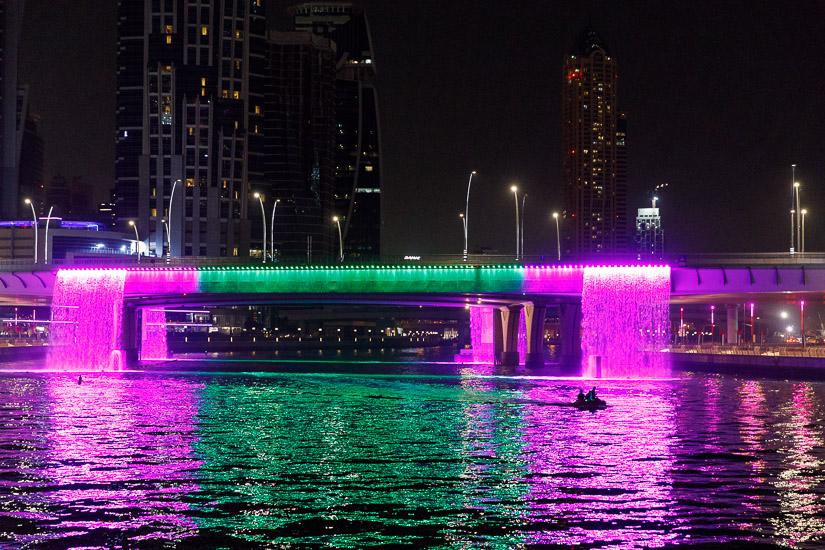 Vattenfall, Sheikh Zayed Road, Dubai Kanal