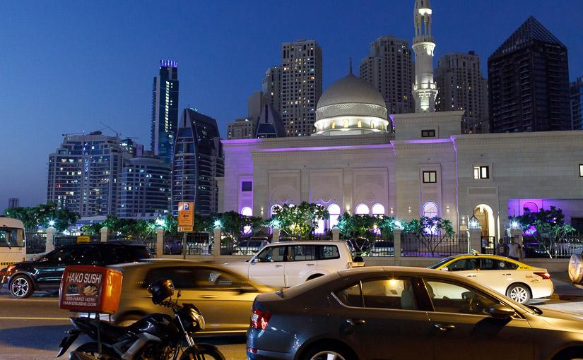 Moske i Dubai Marina